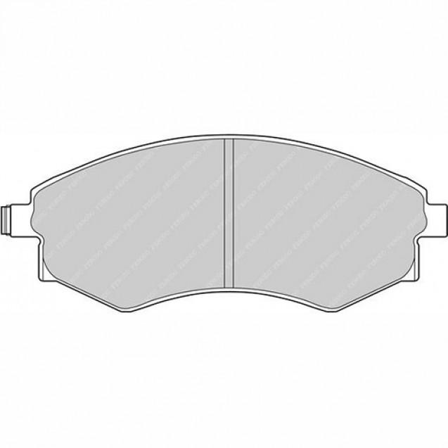 Ferodo Тормозные колодки дисковые/ SSangYong Korando