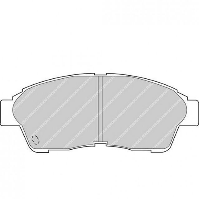 Ferodo Тормозные колодки дисковые/ Toyota Camry
