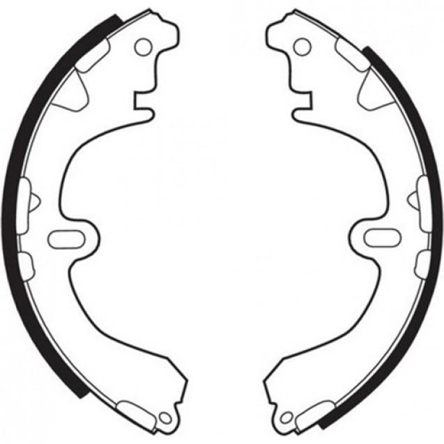Ferodo Тормозные колодки барабанные/ Toyota Corolla