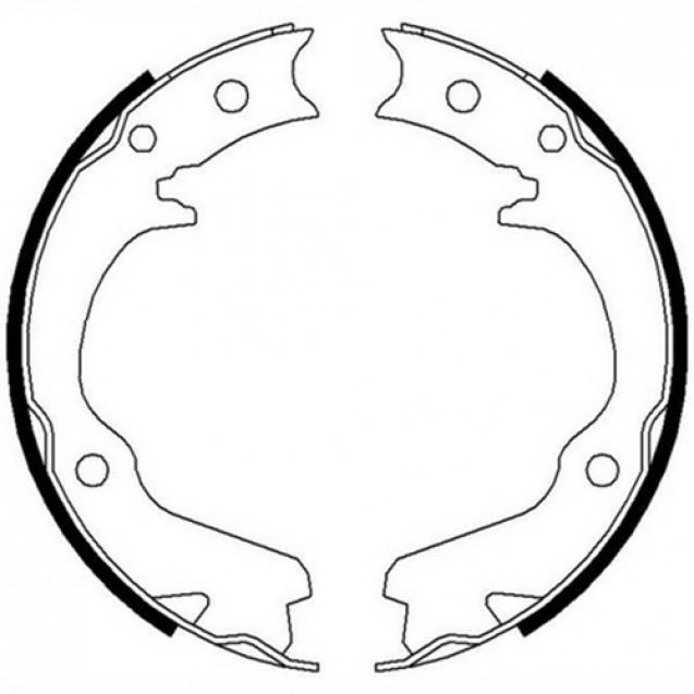 Ferodo Тормозные колодки барабанные/ Subaru Forester