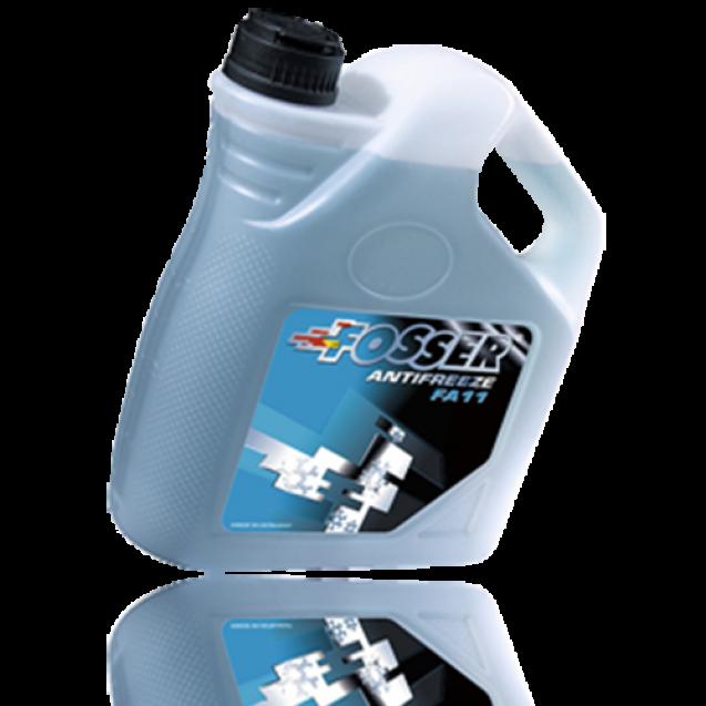 FOSSER Antifreeze FA 11 Антифриз синий 4l
