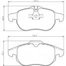 Glober Колодки тормозные дисковые/ Fiat Croma