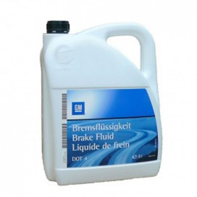 GM Dot 4 Тормозная жидкость 5l