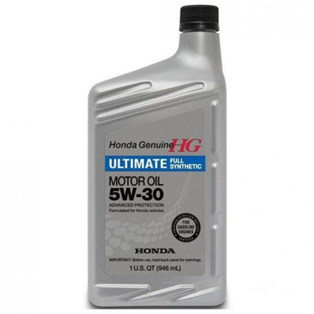 Honda Ultimate 5W30 Синтетическое масло 946ml