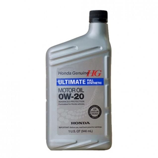 Honda HG Ultimate 0W20 Синтетическое масло 946ml