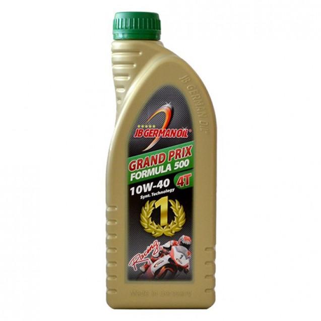 JB German Oil GRAND PRIX FORMULA 500 10W40 4-TAKT Синтетическое масло 1l