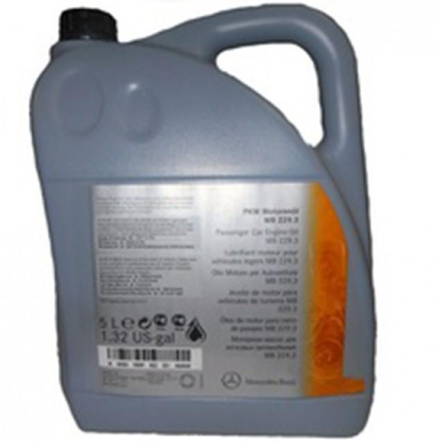 MERCEDES-BENZ Engine Oil 5W40 (229.3) Синтетическое масло 5l