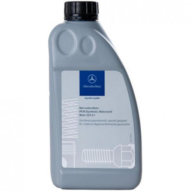 MERCEDES-BENZ Engine Oil 5W30 (229.51) Синтетическое масло 1l