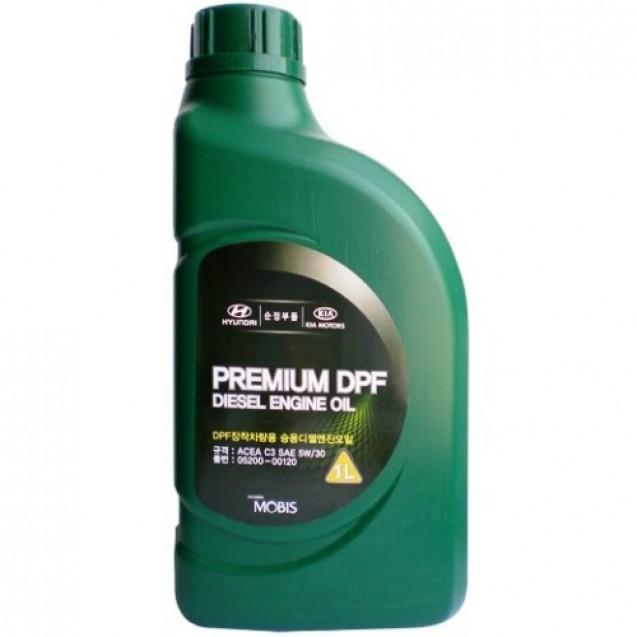 MOBIS Premium DPF Diesel 5W30 Синтетическое масло 1l