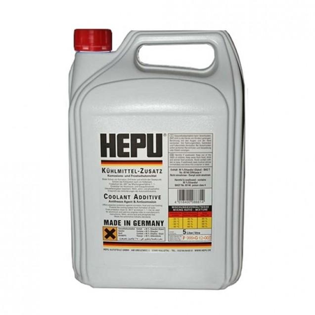 HEPU Антифриз-концентрат G12 красный 5l