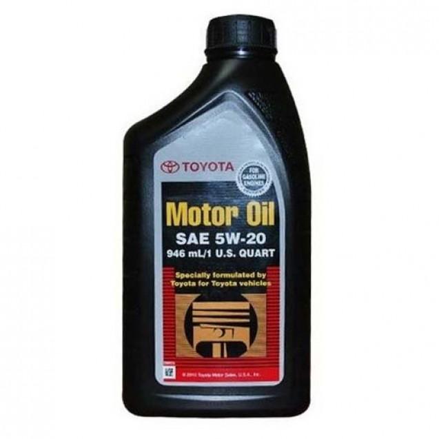 TOYOTA Motor Oil 5W20 Синтетическое масло 946ml