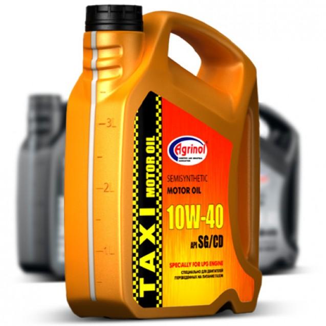 Agrinol 10W40 SG/CD Taxi Полусинтетическое масло 4l