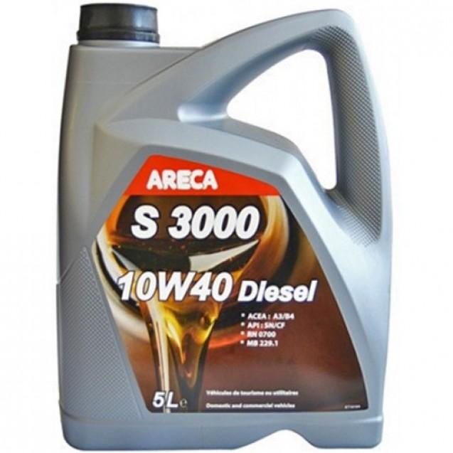 ARECA S3000 Diesel 10W40 Полусинтетическое масло 5l