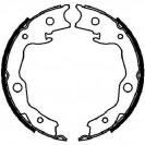 Bosch Тормозные колодки барабанные/ Nissan Qashqai