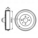 Bosch Тормозной диск/ Fiat Qubo