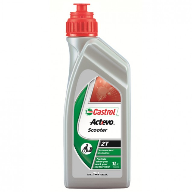Castrol ACT> EVO SCOOTER 2T 1l