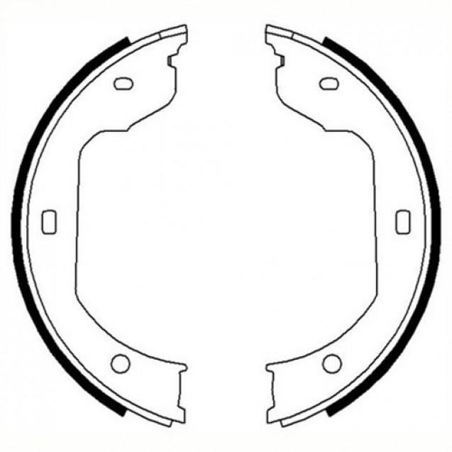 Ferodo Тормозные колодки барабанные/ BMW X5