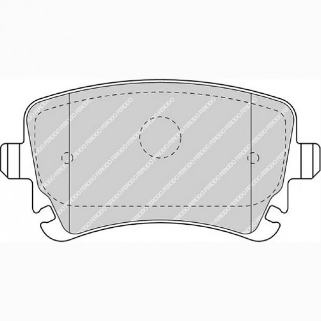 Ferodo Тормозные колодки дисковые/ Audi A8
