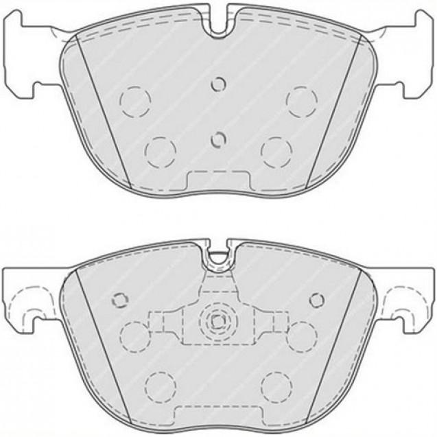 Ferodo Тормозные колодки дисковые/ BMW X5