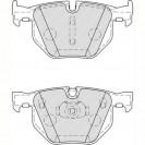 Ferodo Тормозные колодки дисковые/ BMW X6