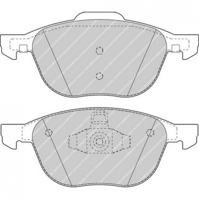 Ferodo Тормозные колодки дисковые/ Ford Focus