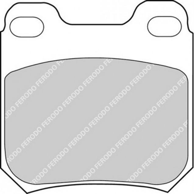 Ferodo Тормозные колодки дисковые/ Opel Vectra B
