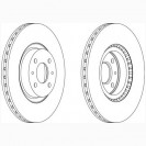 Ferodo Тормозной диск/ Fiat Doblo