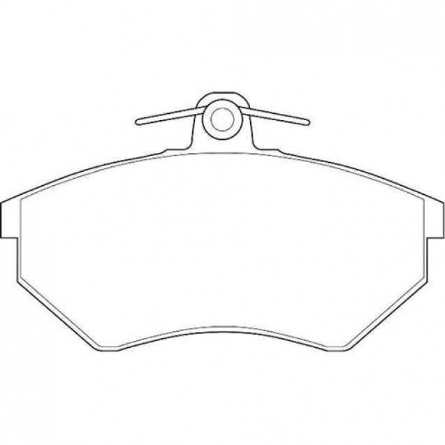 Glober Колодки тормозные дисковые/ Audi 80