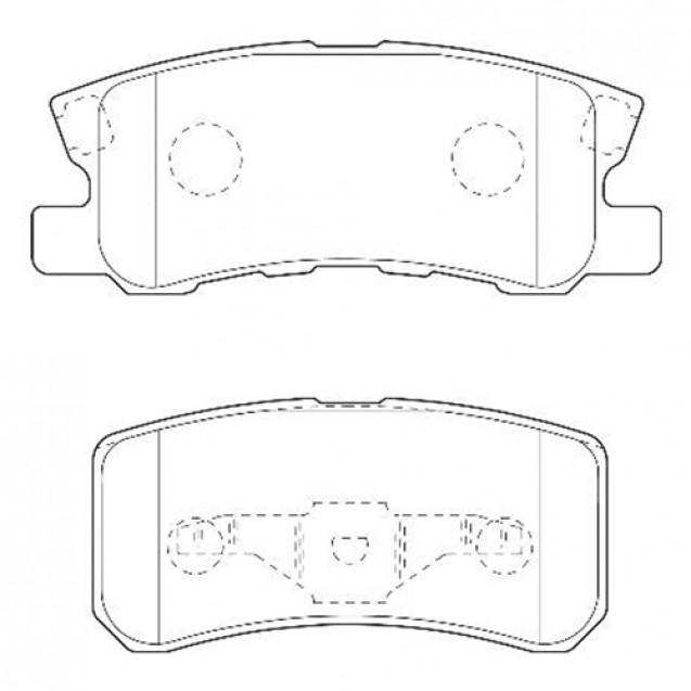Glober Колодки тормозные дисковые/ Citroen C4 Aircross
