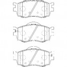 Glober Колодки тормозные дисковые/ Hyundai Accent III