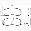Glober Колодки тормозные дисковые/ Hyundai Santamo