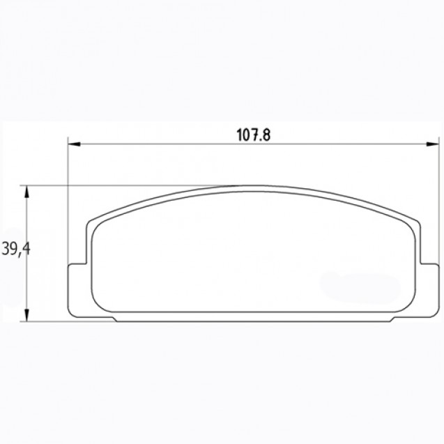 Glober Колодки тормозные дисковые/ Mazda 323