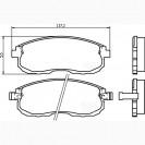 Glober Колодки тормозные дисковые/ Nissan 350Z