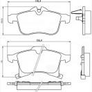 Glober Колодки тормозные дисковые/ Opel Astra H