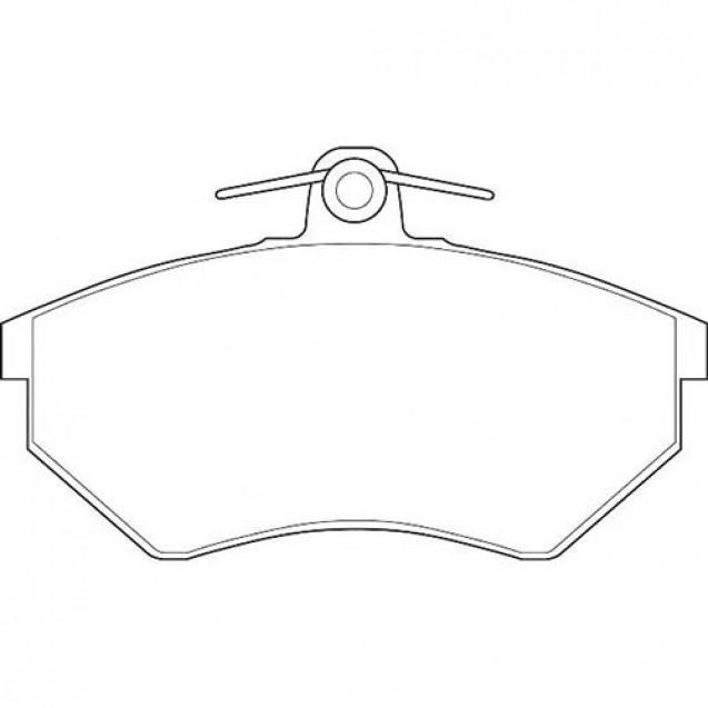 Glober Колодки тормозные дисковые передние/ Chery Amulet