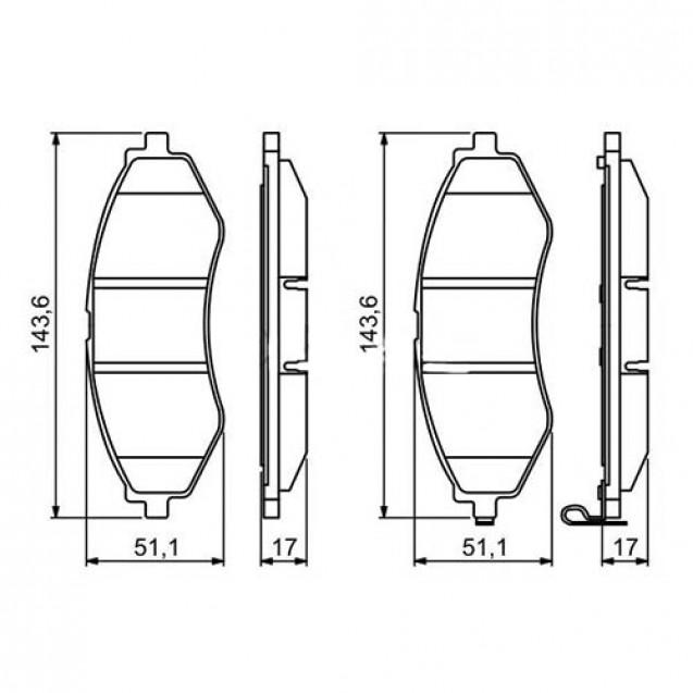 Glober Колодки тормозные дисковые передние/ Chevrolet Lacetti
