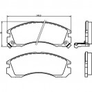 Glober Колодки тормозные дисковые передние/ Fiat Ducato
