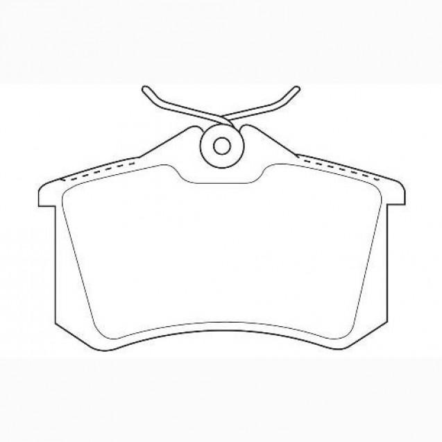 Glober Колодки тормозные дисковые/ Peugeot 405