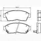 Glober Колодки тормозные дисковые/ Toyota Carina E