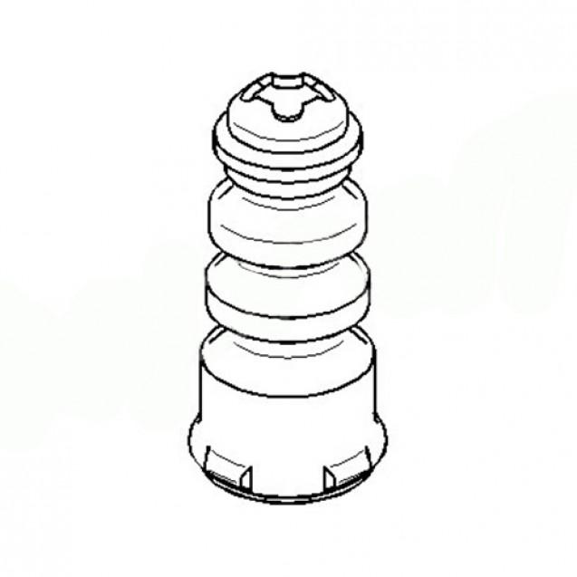 Glober Отбойник заднего амортизатора/ Audi A1