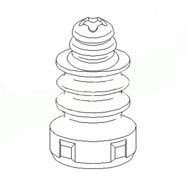 Glober Отбойник заднего амортизатора/ Skoda Octavia