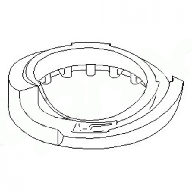 Glober Прокладка пружины/ Seat Toledo I