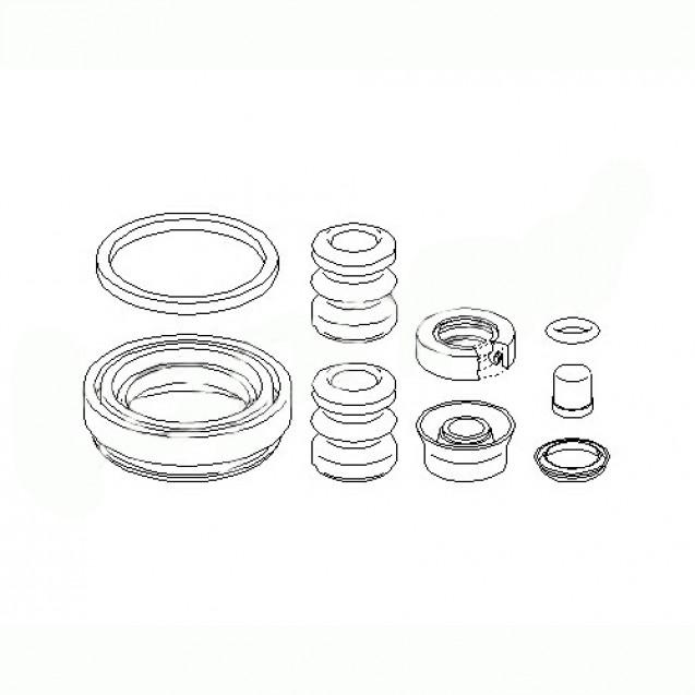 Glober Ремкомплект суппорта/ Audi 100