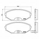 Glober Тормозные колодки дисковые/ Nissan Maxima