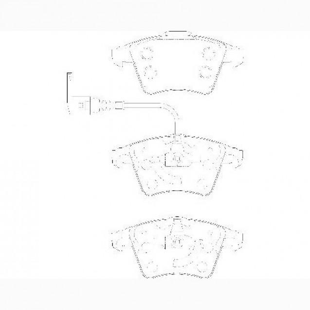 Glober Тормозные колодки дисковые/ VW Multivan