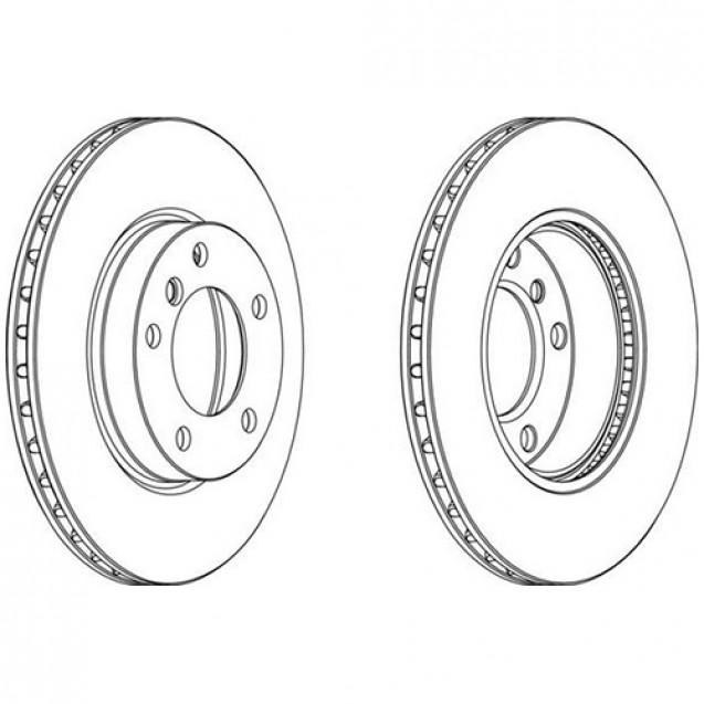 Glober Тормозной диск передний/ BMW 3 (E36)