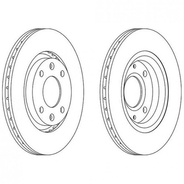Glober Тормозной диск передний/ Citroen Berlingo