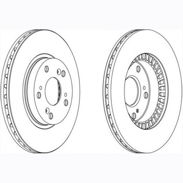 Glober Тормозной диск передний/ Honda Stream