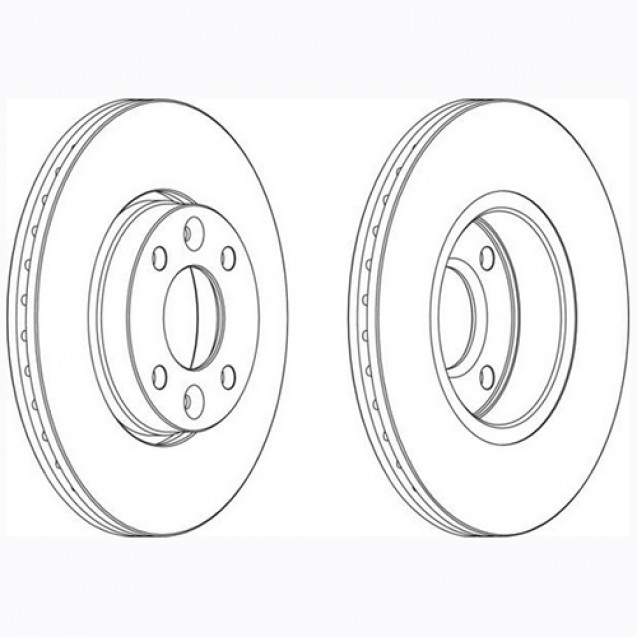 Glober Тормозной диск передний/ LADA Largus