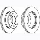 Glober Тормозной диск передний/ Mercedes-Benz Sprinter 2-T